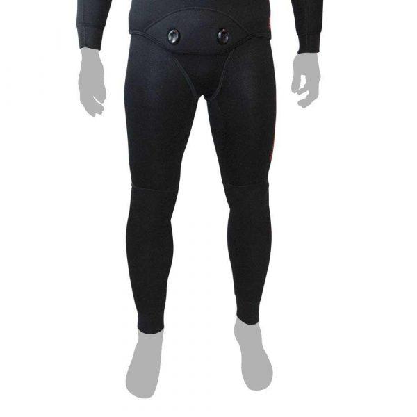 Epsealon Shadow Full Black Pants 7mm